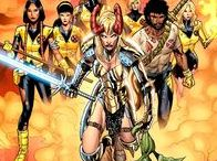 New Mutants / New Mutants illustrations