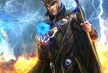 Loki / The best illustrations of Loki (Marvel)