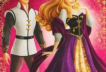 Aurora and Philippe / The best illustrations of Aurora (Disney Princess)