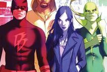 Defenders / The best illustrations of the Defenders (Marvel)