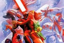 Jean Grey and Cyclops / The best illustrations of Jean Grey and Cyclops