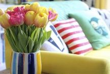 """CHANGE It Up Decorating Ideas / ALWAYS  A """"ROOM"""" FOR CHANGE! / by Susan Henrickson Frary"""