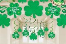 St. Patrick's Day / Party Ideas. Green Accessories. Decorations. Crafts. Recipes. Drinkware. Tableware.  / by Windy City Novelties
