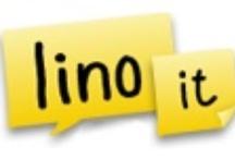 Lino / Online sticky note service.