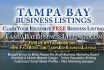 Tampa Bay Business Listings / ✔ Claim Your Exclusive ............................♥.FREE Business Listing.♥............... @TampaBayBusinessListings.com ..........................................................ϟ.SuperCharge.ϟ your business with a ........................................................ ►►...........✪ Featured or ♛ Premium Listing...........◄◄