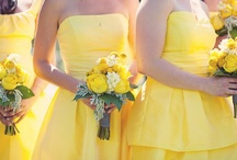 blue and yellow wedding / yellow...blue...purple