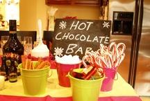 Hot Cocoa bar! / by Helen Eng