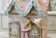 gingerbread house / by Vivien A
