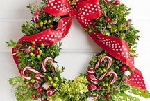 Christmas crafts / ideas for making Christmas greenery and wreaths, etc