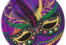 Mardi Gras | March 5 / Fat Tuesday. Shrove Tuesday. Masquerade Balls. Parades. Floats. Party Ideas. Decorations. Tableware. Crafts. Recipes. Accessories. https://www.windycitynovelties.com/holidays-occasions/holiday-party-supplies/mardi-gras.html