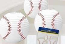 Baseball / Baseball Parties and Events. Decorations. Accessories. Party Favors. Tableware. Crafts. Recipes.