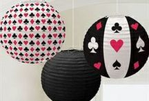 Casino Night / Game Night. Casino Party. Games. Decorations. Accessories. Party Favors. Drinkware. Recipes.