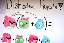 Math: Distributive Property / by Lisa LisaML