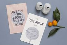 LA LUNE by The Adventures of (Greeting Cards) / Greeting cards illustrated by The Adventures Of