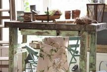 Country Garden Shop / Things I would carry in my dream garden and antique shop.