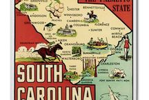 South Carolina / I'm a Carolina girl born and raised. I love everything about my state. I live on St. Helena Island in Beaufort county, SC. / by Gloria Netherland