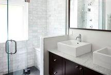 HOME: Bath: Half Wall