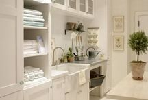 Home Sweet Home :: Laundry Room & Linen Cupboard