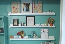 Craft closet / by Tina Parham
