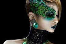 Makeup - avant garde / by Evolutionz Face & Body Art