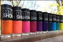 Cool Shades for Nails / Just sharing a few trending nail polish shades.