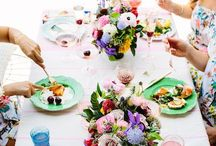 Table setting / Dinner party styling.