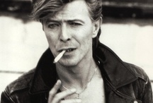 David Bowie / Ever so stylish and talented! / by Kim H >^..^<