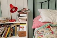 on the bedside table / by Karen Ledgerwood