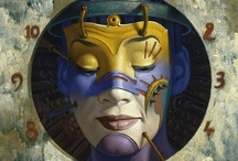 ART - by Gil Bruvel / Visionary artist / by Julie Richards