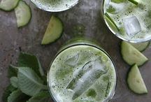 Beverages / Smoothie recipes, infused water & drink styling.