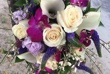 Our Lovely Floral Arrangements!!!! / Tropical bridal bouquets