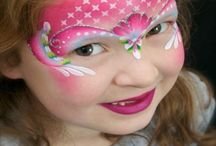Pretty Faces Facepainting / Inspiration for:Princess face painting; fairy face painting; swirl face painting; bling face painting  / by Evolutionz Face & Body Art