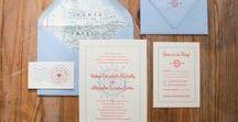 C&Co. Weddings / Custom design & letterpress printing for wedding invites