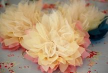 fabric- tulle flowers / bows