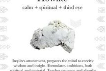 Howlite / Calm your soul. Live your truth. Seek your highest potential. Howlite is used to manifest truth, expand consciousness and formulate ambition while supporting you on your journey.