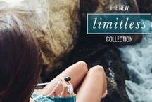 limitless collection /  You were born Limitless.  Take a moment and let that sink in, revel in that glorious, refreshing knowledge of your infinite possibilities.
