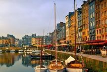 Places I want to go: Honfleur, França