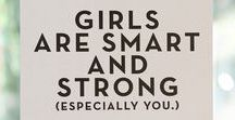 Girls Are Smart & Strong