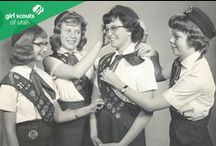 Vintage / This year marks the 100th anniversary of Girl Scouting in America. From 1912 to 2012 Girl Scouts has built girls of courage, confidence and character.