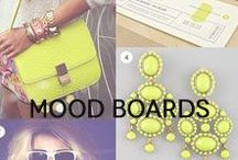 Mood Boards / Inspiration for all!