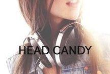Head Candy / Cute headphones, hats, and headbands.