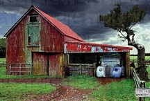 Barns And Building / There is just something majestic as well as utilitarian in these structures. / by Carl Allen