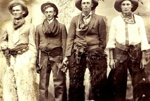 Wild Wild West / No era in our history produced such nostalgia and drama in such a short period of time as the cowboys, the shootouts and colorful characters of the old west. Much has been glamorized over the years, but that only shows the impact of that time period. / by Carl Allen