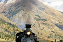Trains / I'm a train buff nothing more. The history of the rails intrigue me. / by Carl Allen