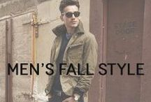 Men's Fall Style / A fall style assortment focused on the fundamentals.