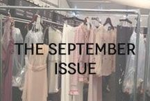The September Issue / Products that take their cues from the catwalks.