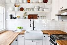 LIFESTYLE | Kitchen / Our kitchen is an opening to new beginnings and beautiful looks that not only transforms your food but your whole home! Check our board for inspiration, tips and tricks.