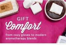 """Holiday Gift Guide: Comfort / The weather outside may be frightful, but these gift ideas are downright delightful. A soothing organic body serum heals dry winter skin, while a set of touchscreen-compatible gloves keeps hands warm and dry no matter what the thermometer reads. Slip into your softest cable-knit sweater, relax by the fire, and shop our coziest picks (optional: hot cocoa and """"It's a Wonderful Life"""" marathon). Looking for something different? Explore the entire Birchbox Holiday Shop."""