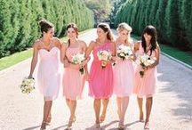 Bridesmaids, Flower Girls, Flowers, Decor / by Hannah Stanford