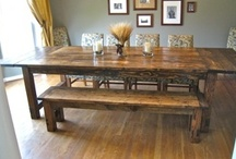 Home Ideas- Dining Room / by Shannon Jones